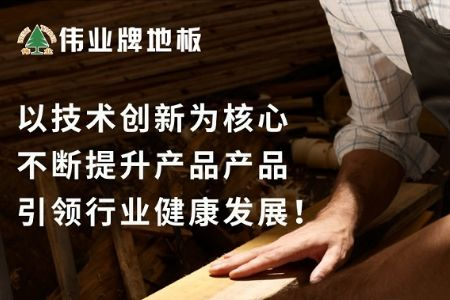"""伟业地板荣耀入选""""2018年中国地板行业30强""""淮安"""